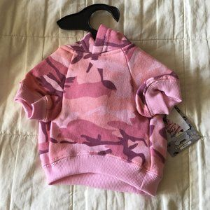 Casual Canine Camo Print Sweatshirt for Dog Small